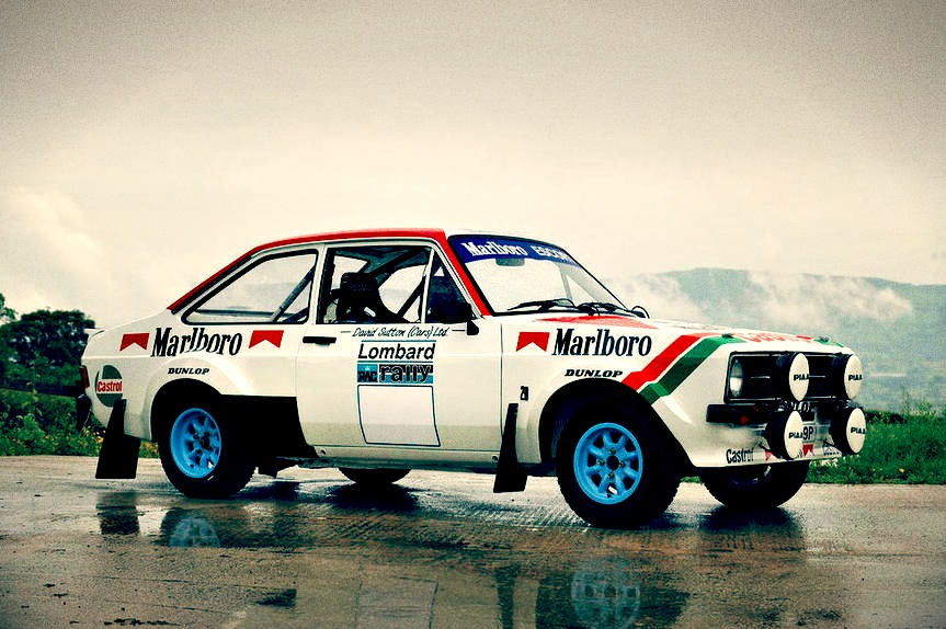 Ford Rally Car In The S